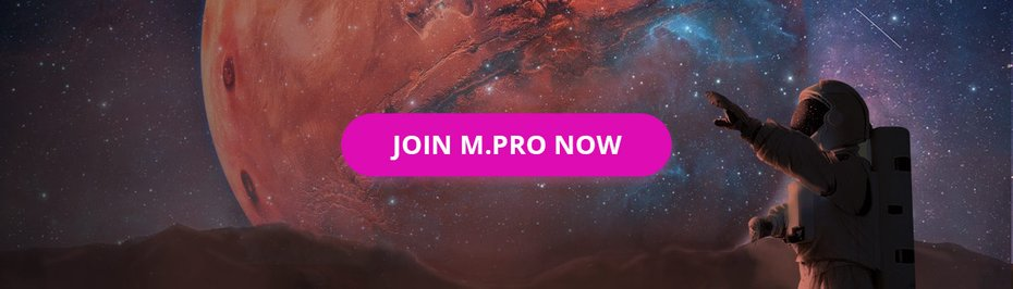 Join M.Pro now