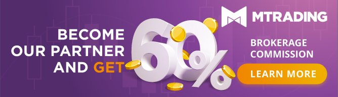 become a partner of Mtrading and get 60% brokerage commission