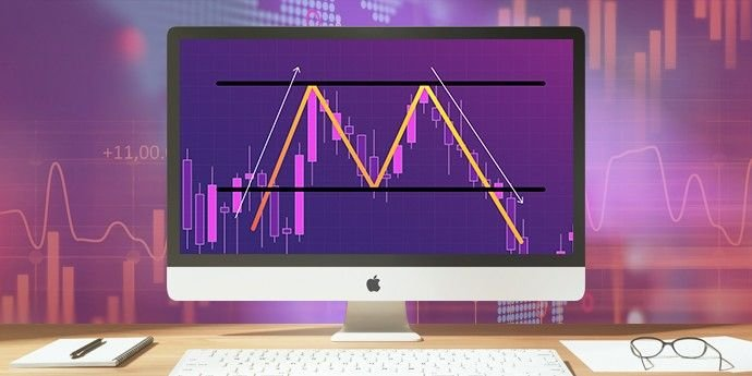 double top pattern mtrading